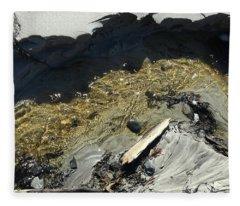 Planet Beach Fleece Blanket