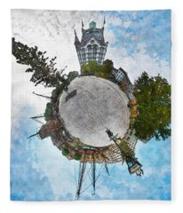 Planet Gelderseplein Rotterdam Fleece Blanket