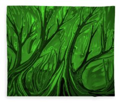 Play Green #h6 Fleece Blanket