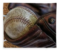 Plays At Home Plate Fleece Blanket