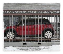 Please Do Not Feed Tease Or Annoy The Mini Fleece Blanket