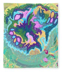 Pleasure Island Fleece Blanket