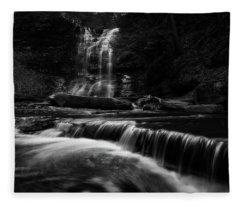 Plotter Kill Falls Fleece Blanket