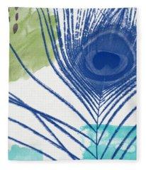Plumage 3- Art By Linda Woods Fleece Blanket