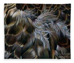 Plumas De Oro Fleece Blanket