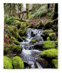 Pnw Forest Fleece Blanket