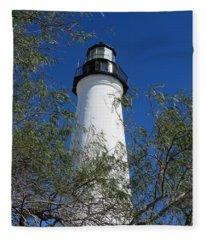 Point Isabel Light Fleece Blanket