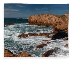 Point Lobos 1 Fleece Blanket