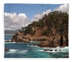 Point Lobos Fleece Blanket