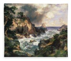 Point Lobos Monterey California Fleece Blanket