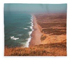Point Reyes National Seashore Fleece Blanket