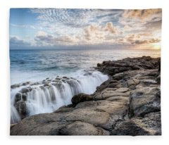 Point Ross Sunset Fleece Blanket