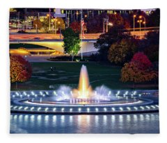 Point State Park  Fleece Blanket