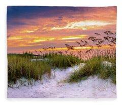 Point Sunrise Fleece Blanket