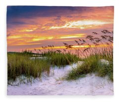 Point Sunrise Fleece Blanket