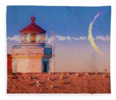 Point Wilson Light 7 Fleece Blanket
