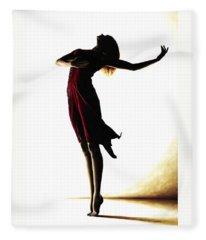 Dance Fleece Blankets