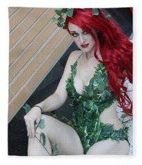 Poison Ivy - Cosplay Fleece Blanket