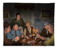 Poker - Poker Face 1939 Fleece Blanket