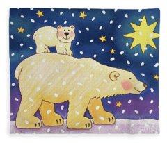 Polar Back Ride Fleece Blanket