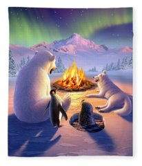 Polar Pals Fleece Blanket