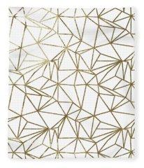 Polly Universe II Fleece Blanket