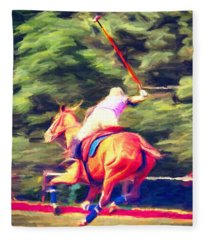 Polo Game 2 Fleece Blanket