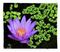 Pond Beauty Fleece Blanket