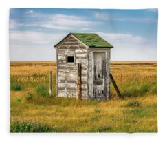 Pendroy Outhouse Fleece Blanket