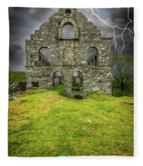 Pont Y Pandy Mill Fleece Blanket