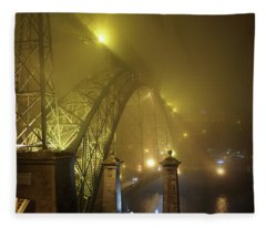 Ponte D Luis I Fleece Blanket