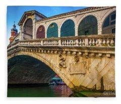 Ponte Rialto Fleece Blanket