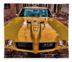 Pontiac Gto - The Judge Fleece Blanket