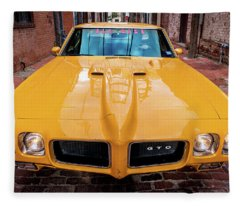 Pontiac Muscle Fleece Blanket