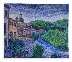 Pontremoli - Italy Fleece Blanket