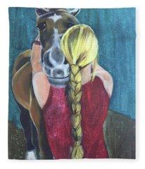 Pony Love Fleece Blanket