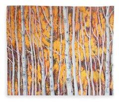 Poplar Forest Fleece Blanket