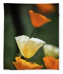 Poppy Glow Fleece Blanket