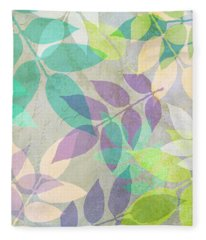 Poppy Shimmer IIi  Fleece Blanket