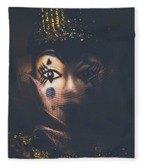 Porcelain Doll. Performing Arts Event Fleece Blanket