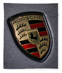 Porsche 993 Fleece Blankets