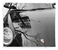 Porsche Reflections Fleece Blanket