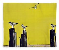 Port A Fleece Blanket