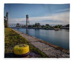 Port Colborne Fleece Blanket