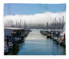 Port Kingston Marina Fleece Blanket