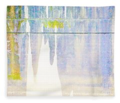 Portland Bridge Support Fleece Blanket