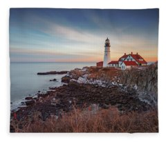 Portland Headlight Fleece Blanket