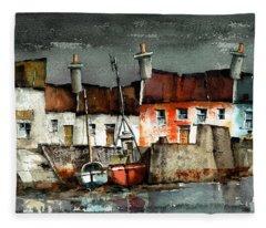 Portmagee Dusk, Kerry Fleece Blanket