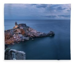 Portovenere Fleece Blanket