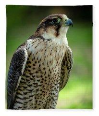 Portrait Bird  Fleece Blanket